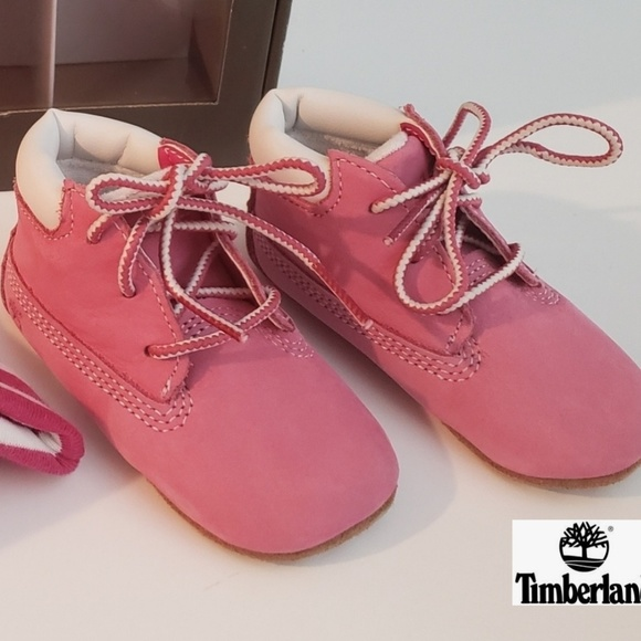 INFANT PINK TIMBERLANDS ⭐NEW⭐ NWT